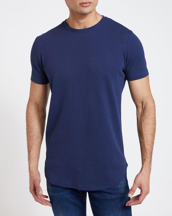 Paul Galvin Navy Popcorn Tee Shirt