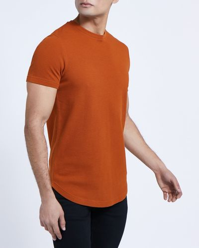 Paul Galvin Tan Popcorn Tee Shirt