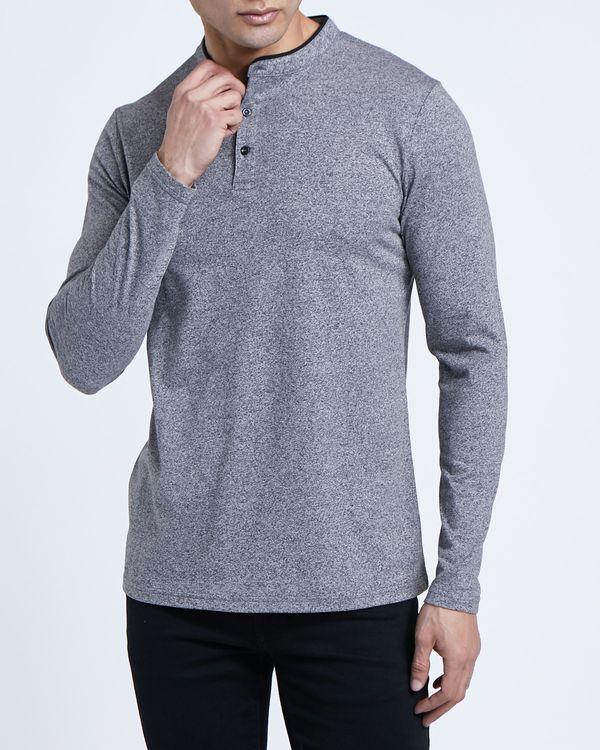 Paul Galvin Long-Sleeved Grey Grindle Top