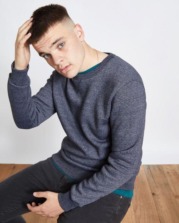 Paul Galvin Navy Grindle Sweatshirt