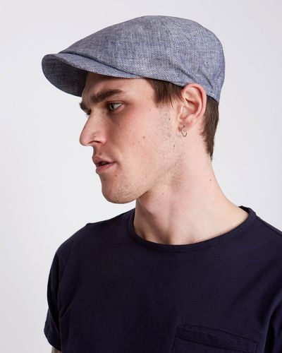 Paul Galvin Linen 8 Panel Hat