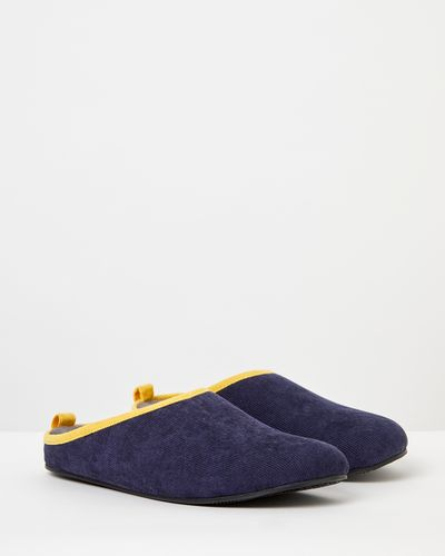 Paul Galvin Cord Trim Slippers