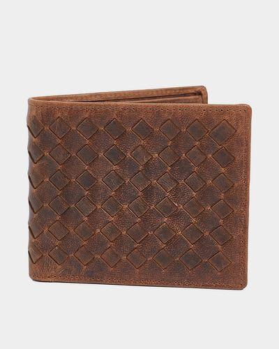 Paul Galvin Lattice Boxed Leather Wallet thumbnail