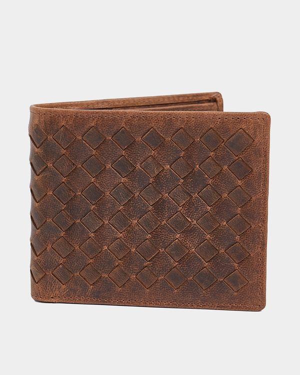 Paul Galvin Lattice Boxed Leather Wallet