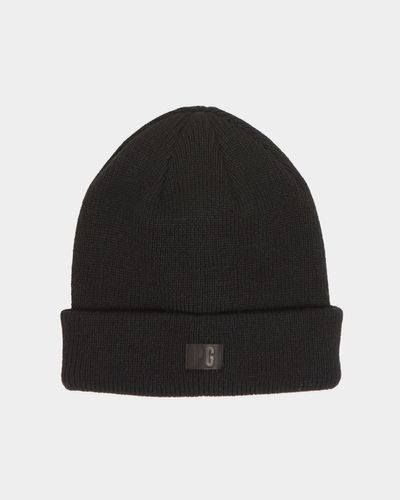 Paul Galvin Black Ribbed Beanie