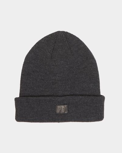 Paul Galvin Charcoal Ribbed Beanie