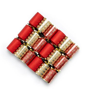 redMini Crackers - Pack Of 6