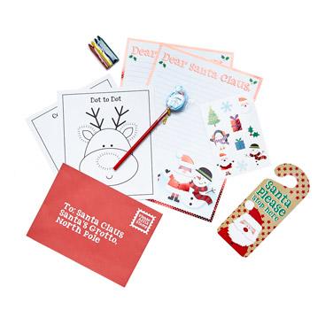 redDeluxe Santa Letter