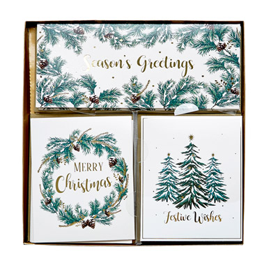 creamMultiview Cards - Pack Of 12