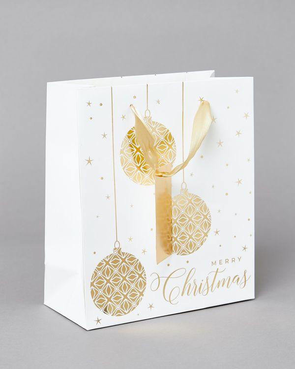 Medium Gold Bauble Bag
