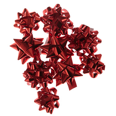 redAssorted Bows - Pack Of 20