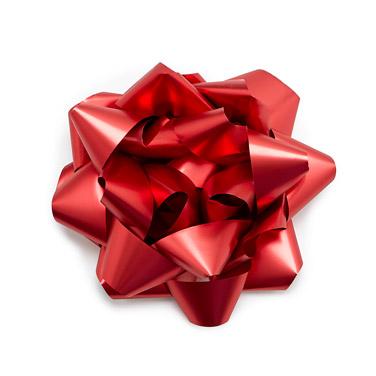 redJumbo Gift Bow