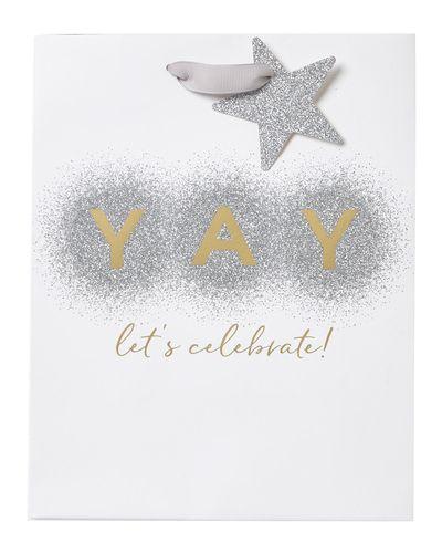 Medium Yay Lets Celebrate Bag