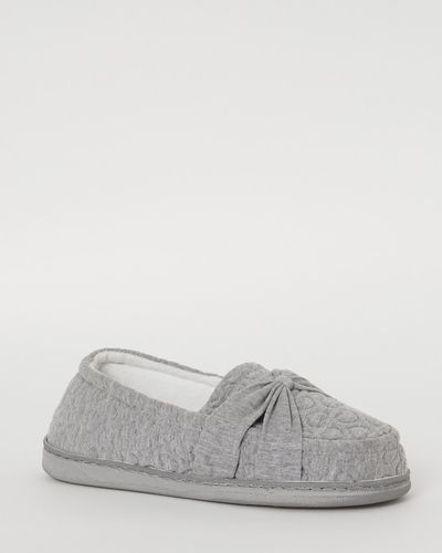 Jersey Full Wide Fit Slippers thumbnail