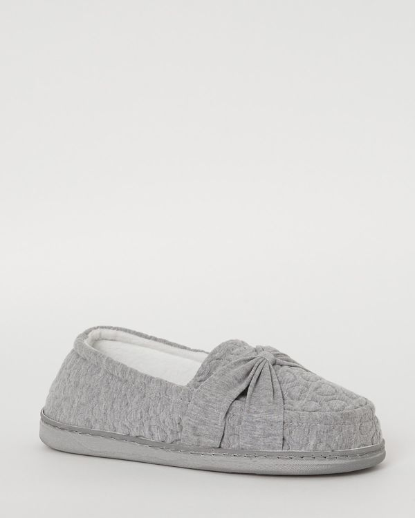 Jersey Full Wide Fit Slippers