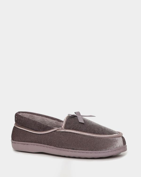 Velour Full Slippers