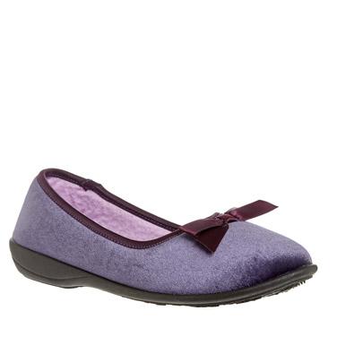 purpleVelvet Full Slipper
