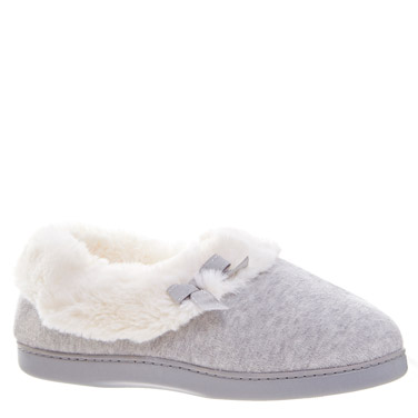 grey-marlBow Full Slippers
