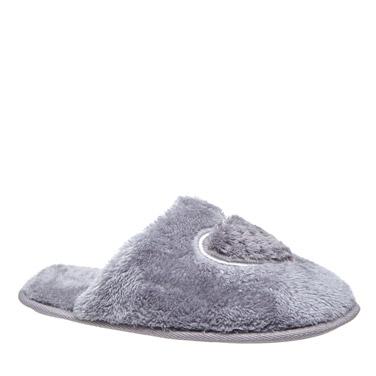 charcoalHeart Mule Slippers