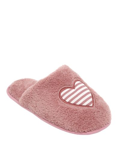 Stripe Heart Mule