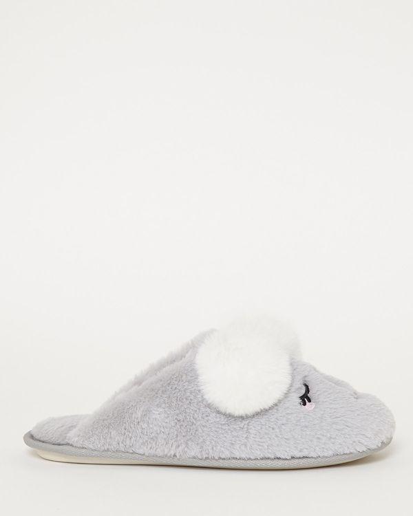 Koala Mule Slippers