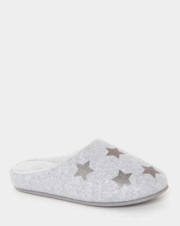 Felt Star Mules