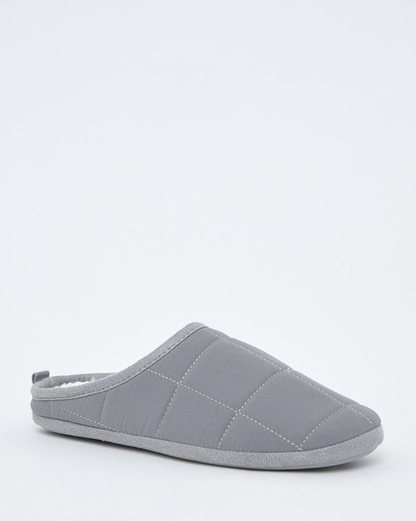 Quilted Mules