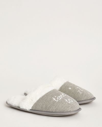 Time To Zzz Mule Slippers