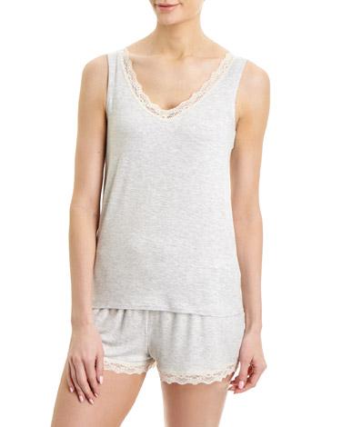grey-marlViscose Pyjama Vest