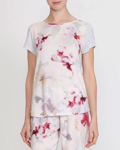 Floral Panel Top