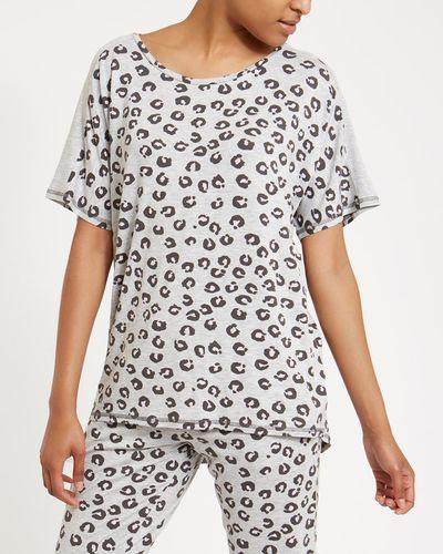 Animal Print Pyjama Top thumbnail