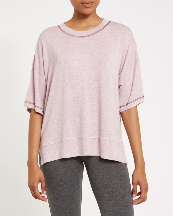 Rose Marl Pyjama Top