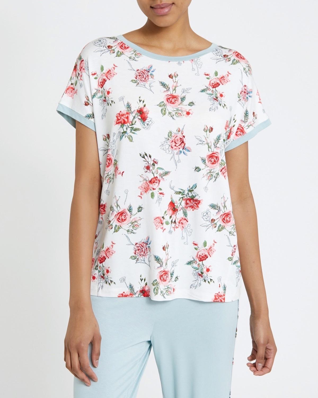 Sage Floral T-Shirt