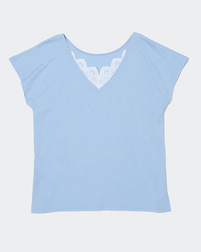 Cotton Modal Lace Top