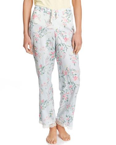 greenGarden Floral Pyjama Bottoms