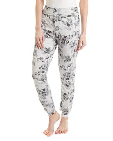 lilacViscose Print Pyjama Bottoms