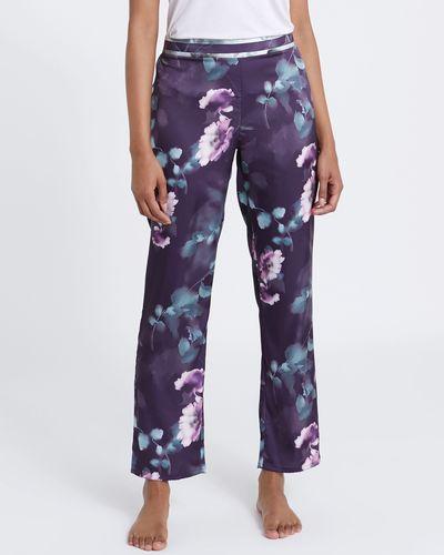 Satin Print Pyjama Pants