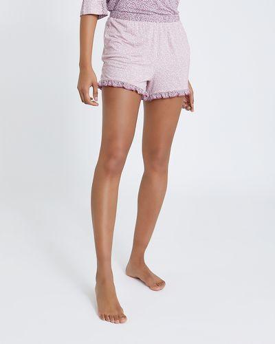 Ditsy Frill Hem Shorts