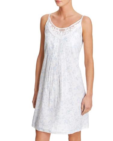 blueBlue Cotton Nightdress