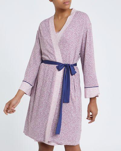 Ditsy Panelled Kimono