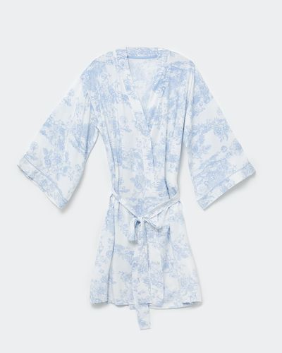 Blue Print Wrap