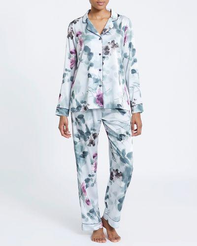 Satin Print Pyjamas