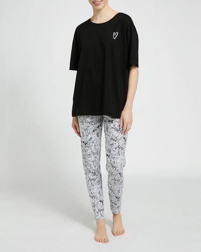 Cotton All-Over Print Pyjamas thumbnail
