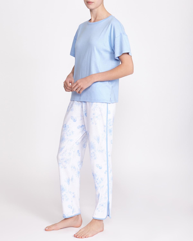 dd882b305 Dunnes Stores | Blue Cotton Modal Pyjamas