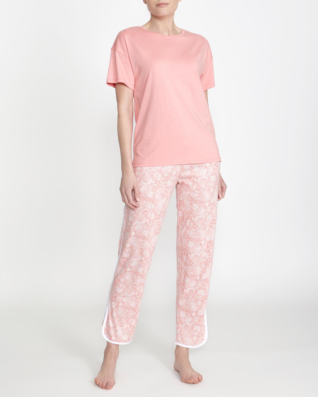 c763b8d53 Dunnes Stores | Pink Cotton Modal Pyjamas
