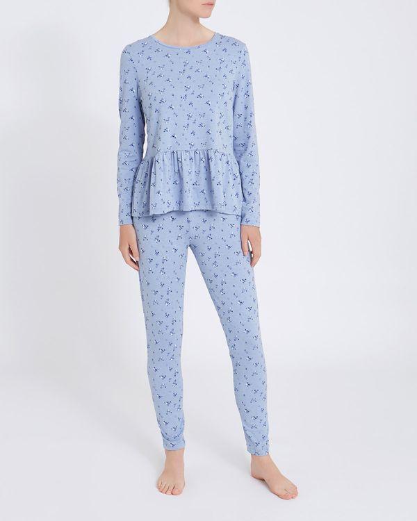 Peplum Pyjama Set