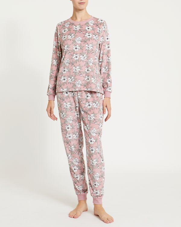 Floral Velour Pyjamas