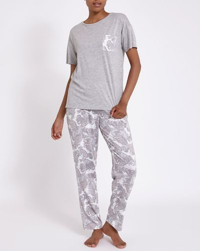 Paisley Cotton Modal Pyjamas thumbnail
