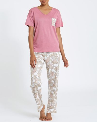 Paisley Cotton Modal Pyjamas thumbnail