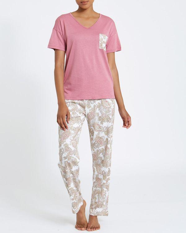 Paisley Cotton Modal Pyjamas